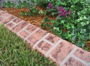 Les bordures de jardins eurobrick for Bordure de jardin special tondeuse